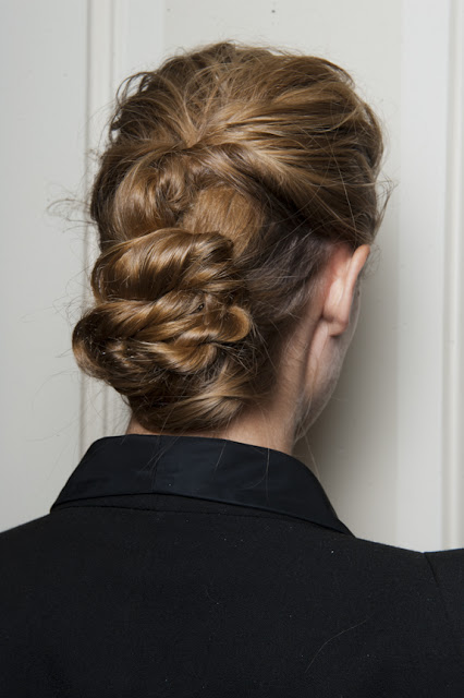 Fashion Week Hair How-to: The Row Spring 2013 Show