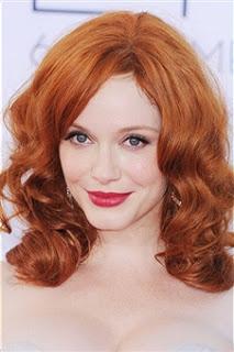 Christina Hendricks' Hairstyle: 2012 Emmys