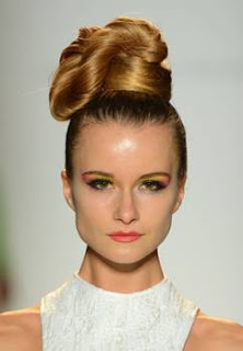 My Updo Runneth Over At The Joanna Mastroianni Spring 2013 Show