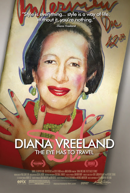 'Diana Vreeland: The Eye Has To Travel' Opens Today!
