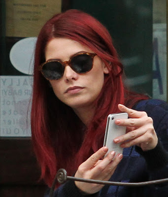 Ashley Greene Dyes Her Hair Red