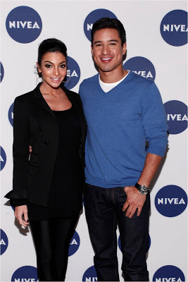 Mario Lopez And Courtney Mazza Team Up With NIVEA To Launch 'Kiss Of The Year' Contest