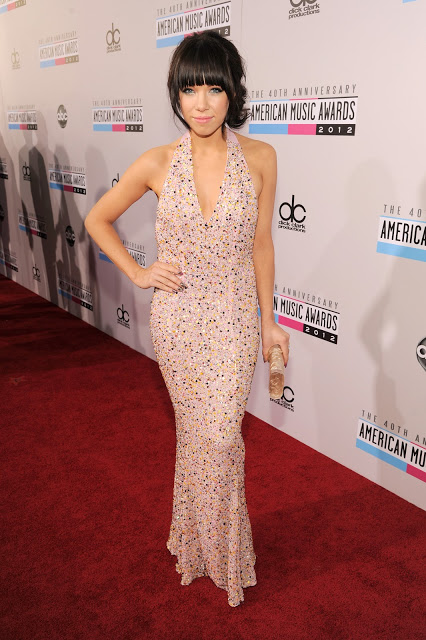 Carley Rae Jepsen's Makeup: American Music Awards 2012
