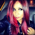 Snooki Dyes Her Hair Red
