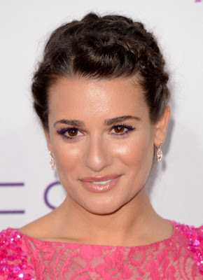 Lea Michele's Makeup At The People's Choice Awards