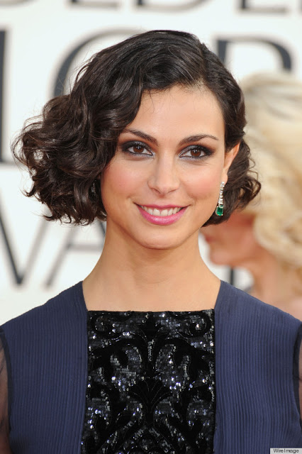 Morena Baccarin's Makeup At The Golden Globes 2013