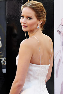 2013 Oscars Hairstyle: Jennifer Lawrence