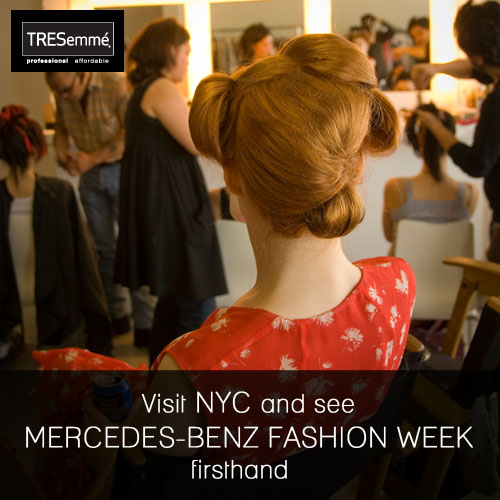 Win A Trip To New York Fashion Week Courtesy Of TRESemme!