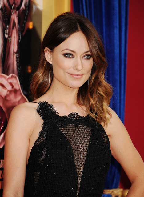 Hairstyle: Olivia Wilde At 'The Incredible Burt Wonderstone' LA Premiere