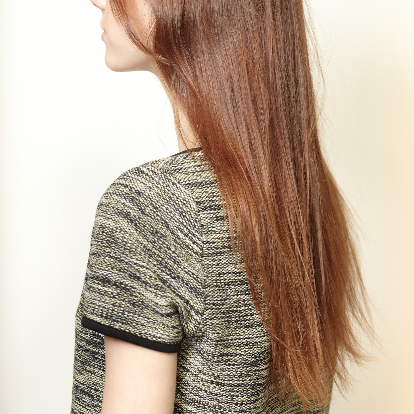 Hair Color Reverse Ombre Rouge 18