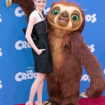 Makeup: Emma Stone At 'The Croods' Premiere