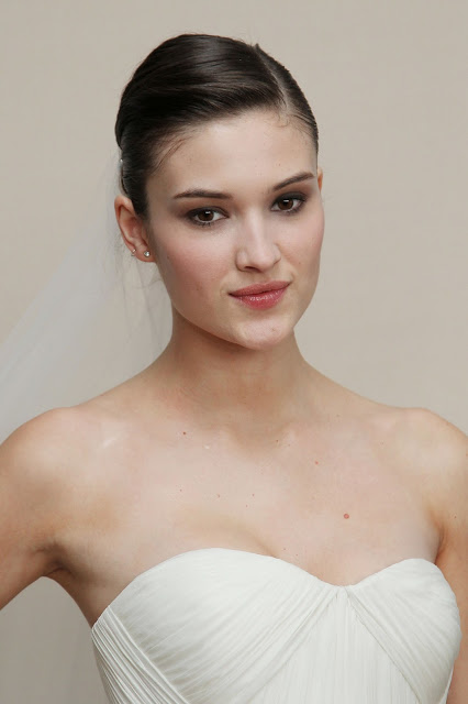 Makeup: Gucci Westman's Natural Bridal Look For Marchesa S/S Bridal Show