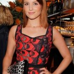 Dianna Agron: Makeup At 'Vogue' Dinner