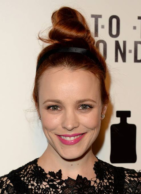 Rachel McAdams makeup To The Wonder