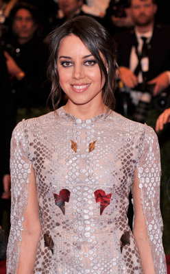 Met Ball 2013 Hairstyle: Aubrey Plaza