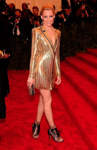 Met Ball 2013 Hairstyle: Elizabeth Banks