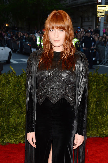 Met Ball Makeup 2013: Florence Welch