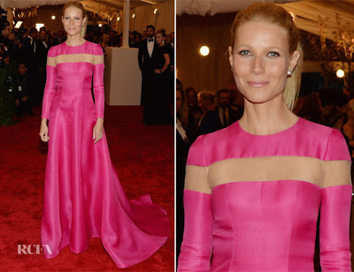 Met Ball 2013 Hairstyle: Gwyneth Paltrow