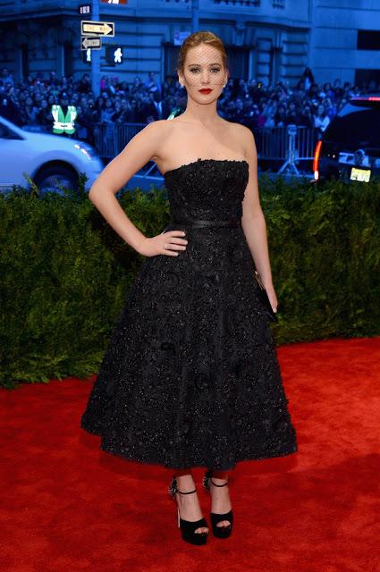 Met Ball 2013 Makeup: Jennifer Lawrence