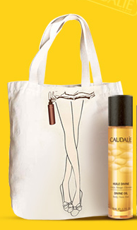 Giveaway: Caudalie Limited Edition Tote With Summer Products