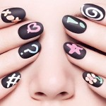 Citate Chalkboard Manicure