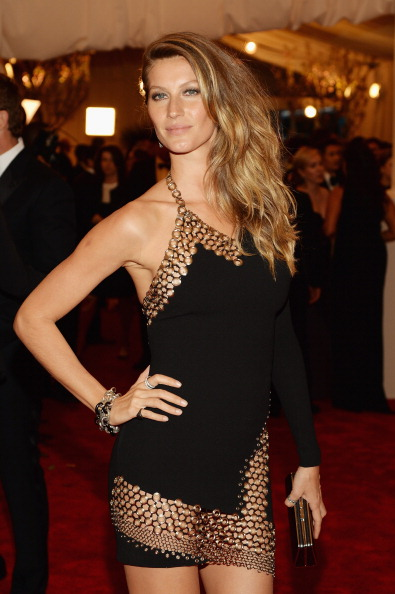 Met Ball 2013 Hairstyle: Gisele Bundchen