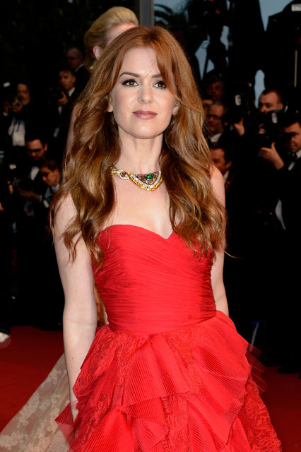 Hairstyle: Isla Fisher At The Cannes Film Festival