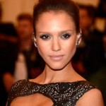 Met Ball 2013 Hairstyle: Jessica Alba
