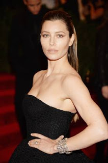 Met Ball 2013 Hairstyle: Jessica Biel