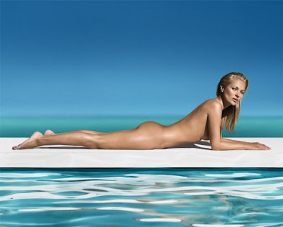 Kate Moss Is The New Face (& Body) Of St. Tropez