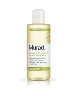 New: Murad Renewing Cleansing Oil