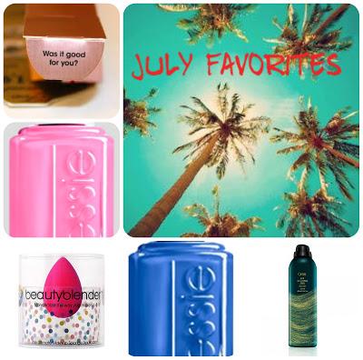 Julia's July Beauty Favorites