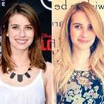 Emma Roberts' New Blonde Hairstyle