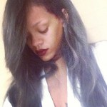 Rihanna's New Gray Ombre Hair Color