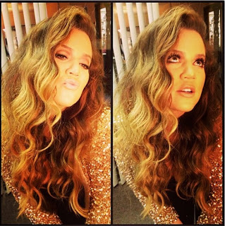 Hairstyle: Khloe Kardashian's Textured Waves