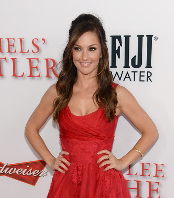 Hairstyle: Minka Kelly At 'The Butler' Premiere