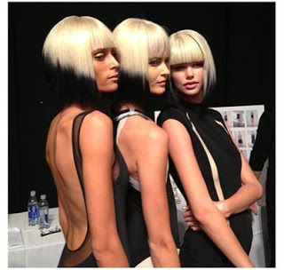 Wigs At Carmen Marc Valvo's Spring 2014 Show