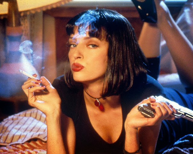 Fictitious Fragrance Fan: Mia Wallace of 'Pulp Fiction'