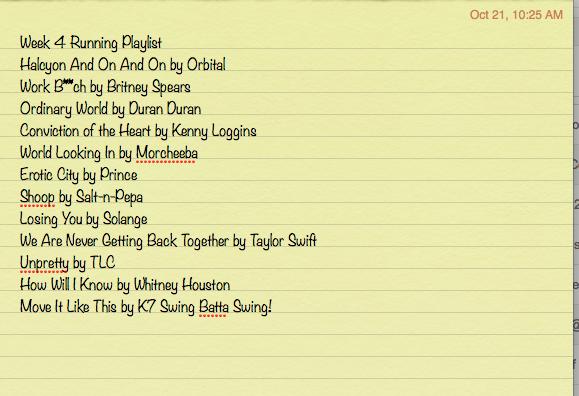 New Running Playlist