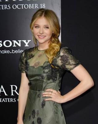 Makeup: Chloe Grace Moretz, 'Carrie' Premiere