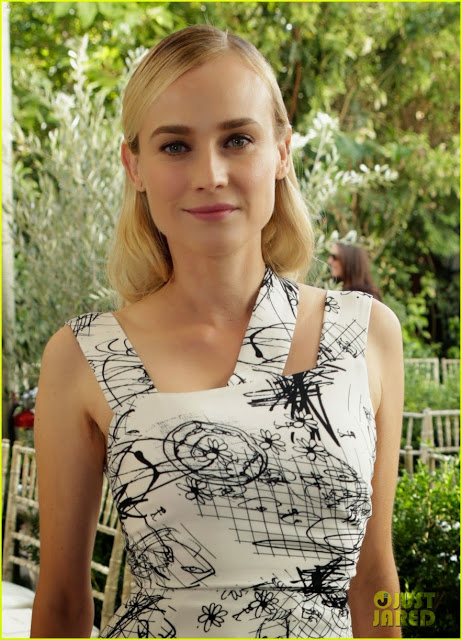 Hairstyle: Diane Kruger, CFDA/Vogue Fashion Fund