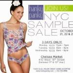 Hanky Panky Sample Sale 2013