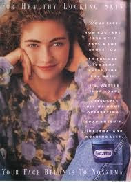 Throwback Thursday Beauty Ad: Rebecca Gayheart For Noxzema