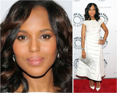 Makeup: Kerry Washington, Scandal Season 3 Promotion At Saks Fifth Avenue