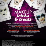 Make Up For Ever's Halloween Makeup Services