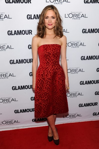 Makeup: Rose Byrne, Glamour Women Of The Year Awards 2013