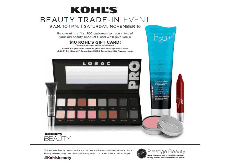 Join Me November 16th At Kohl's In Albany!