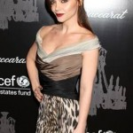 Christina Ricci's Half-up 'Do At The Unicef Ball