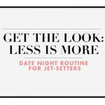 Infographic: Date-Night Routine For Jet-Setters
