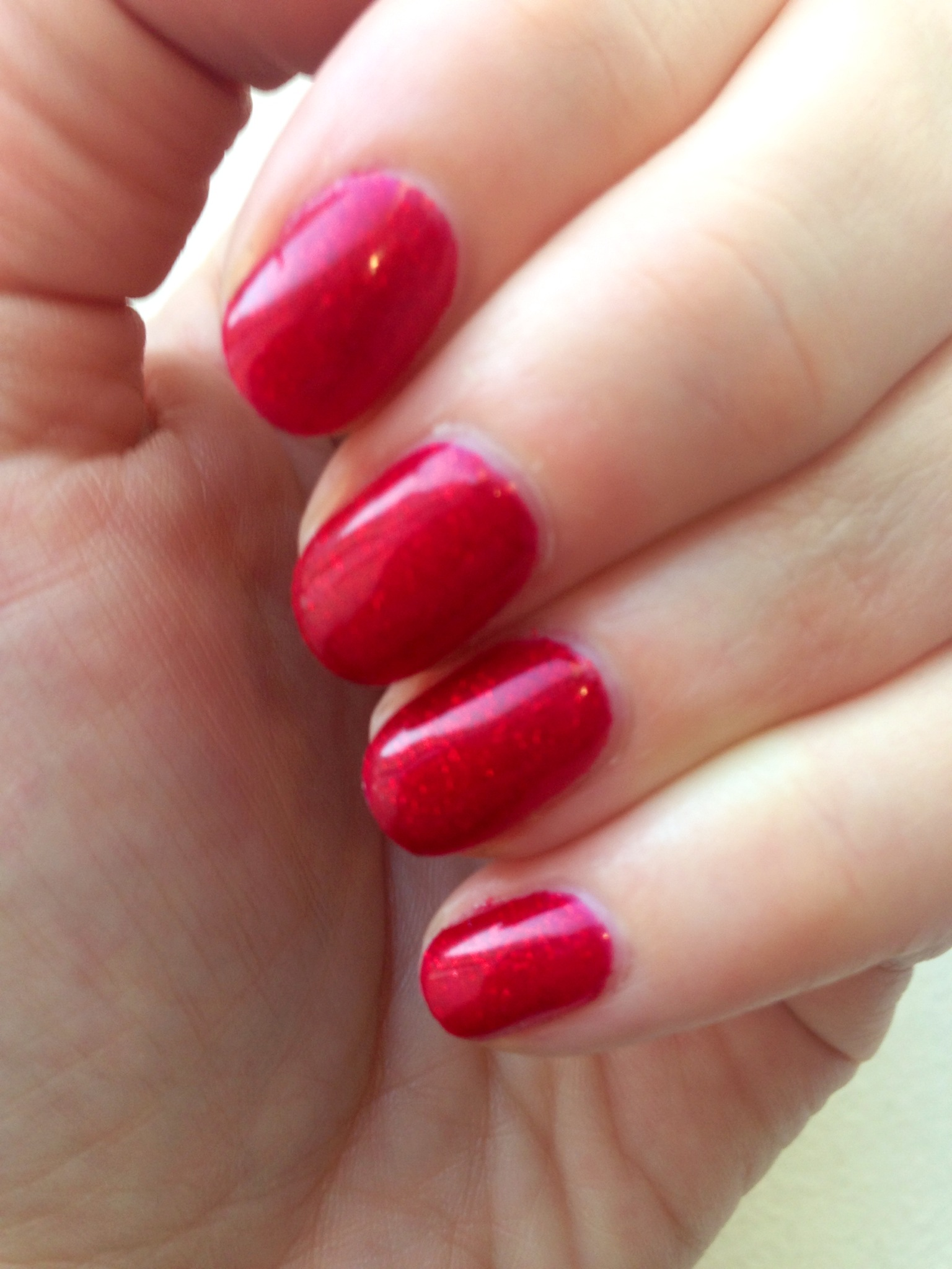 Mani Of The Moment Red Carpet Manicure In Only In